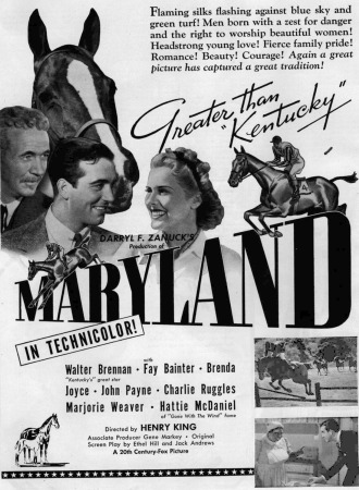 Famous people from Maryland, A List of Famous Marylanders,